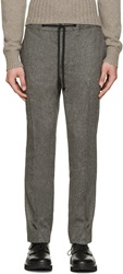 Marc Jacobs Grey Camel Wool Trousers