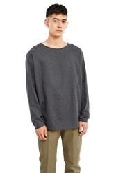 Christophe Lemaire Long Sleeve T Shirt Anthracite
