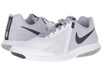 Nike Flex Experience Rn 5 White Black Wolf Grey Men's Running Shoes
