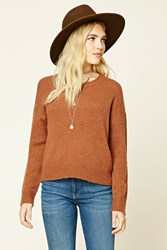 Forever 21 Boxy Crew Neck Sweater