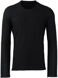 Label Under Construction Crew Neck Jumper Black