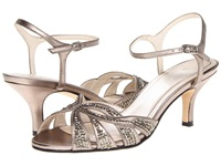 Caparros Heirloom Mushroom Metallic High Heels