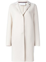 Harris Wharf London 'Cocoon' Coat Nude And Neutrals