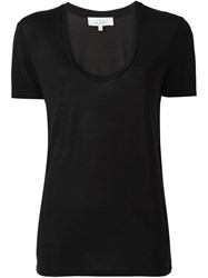 Iro V Neck T Shirt Black