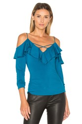 Vava By Joy Han Nicola Top Teal