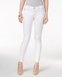 Ag Adriano Goldschmied Super Skinny White Wash Jeans