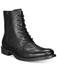 Unlisted By Kenneth Cole Blind Turn Boots Men's Shoes Black