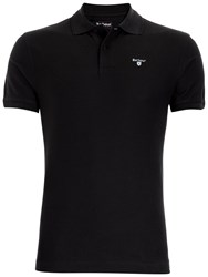 Barbour Sports Cotton Short Sleeve Polo Shirt Navy