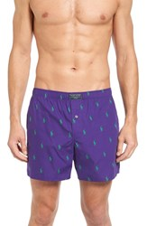 Polo Ralph Lauren Men's Boxer Shorts Squire Purple