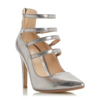 Head Over Heels Alora Strappy Courts Pewter