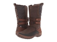 Merrell Sylva Tall Waterproof Potting Soil Women's Boots Brown