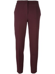 Max Mara Classic Trousers Pink And Purple