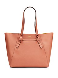 Vince Camuto Brook Leather Tote Orange