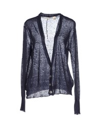 Inhabit Knitwear Cardigans Women Dark Blue