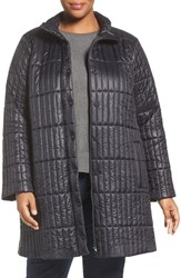 Eileen Fisher Plus Size Women's Recycled Nylon Blend Quilted Jacket