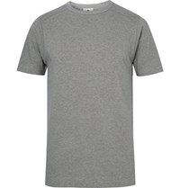 Snow Peak Organic Cotton Jersey T Shirt Gray