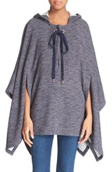 Women's See By Chloe Knit Hooded Poncho