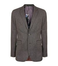 Ted Baker Woven Jacket Male Grey