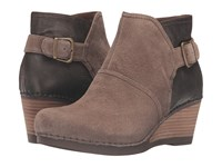 Dansko Shirley Taupe Suede Women's Boots