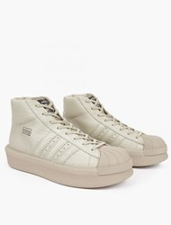 Adidas By Rick Owens Pro Model Oversized Superstar Sneakers