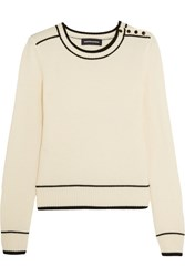 Vanessa Seward Cora Wool Sweater White