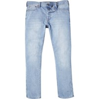 River Island Mens Light Wash Dylan Slim Jeans