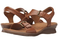 Softspots Kay Luggage Calf Ionic Women's Sandals Brown