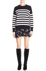 Women's Saint Laurent Stripe Cashmere Sweater