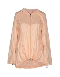 Patrizia Pepe Coats And Jackets Jackets Women Salmon Pink