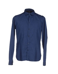 Officina 36 Shirts Blue