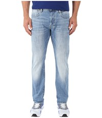 G Star 3301 Straight Fit Jeans In Aiden Stretch Denim Light Aged Light Aged Men's Jeans Blue