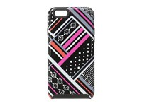 Vera Bradley Hybrid Case For Iphone 6 6S Northern Stripes Cell Phone Case Gray