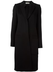 Ports 1961 Single Breasted Coat Black