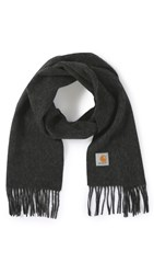 Carhartt Wip Clan Scarf Dark Grey Heather