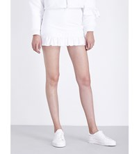 Caitlin Price X Little Simz Satin Skirt White