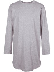 Monkey Time Long Sleeve T Shirt Grey