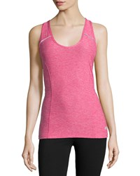 Marika Tek Metro Mesh Back Tank Heather Beetroot