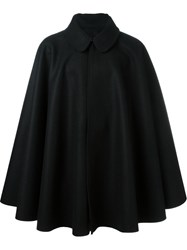 Cini Cape Coat Black