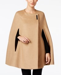 Alfani Hardware Cape Coat Only At Macy's Modern Camel