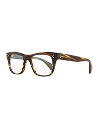 Oliver Peoples Jack Huston 52 Matte Fashion Glasses Chocolate