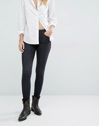 Lee Scarlett Skinny Ankle Grazer Jeans Night Shine Grey