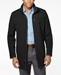 Kenneth Cole New York Men's Full Zip Stand Collar Coat