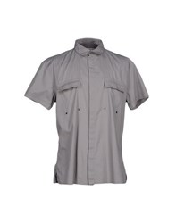 Bikkembergs Shirts Shirts Men Grey