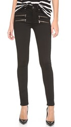 Paige High Rise Edgemont Jeans Black Shadow