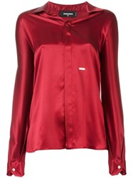 Dsquared2 Spread Collar Shirt