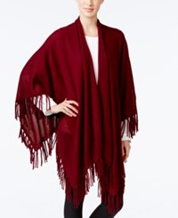 Charter Club Cashmere Fringe Wrap Cardigan Only At Macy's Crantini