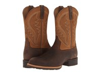 Ariat Hybrid Rancher Earth Dry Well Tan Cowboy Boots