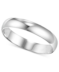 Macy's Men's Platinum Ring 4Mm Wedding Band