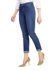 Nydj Slim Fitting Jeans With Rolled Cuffs Valencia