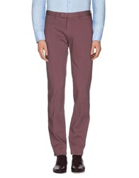 Armani Collezioni Trousers Casual Trousers Men Cocoa